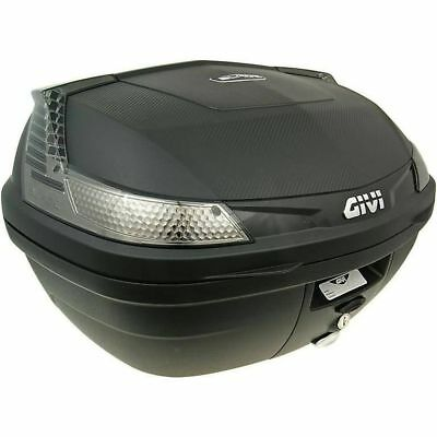 Top Case GiVi B47 Blade Tech Monolock schwarz 47 Liter scooter trunk black 47l