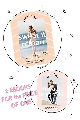 🆕💕Sarah's Day Bundle Sweat it Reload & Shred It INSTANT DELIVERY (PDF)