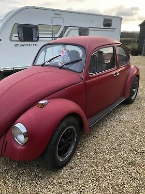 vw beetle 1974 project
