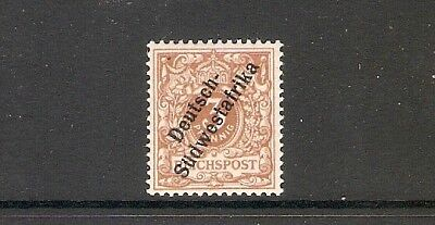 German South West Africa 1898 3pf  MH 001908