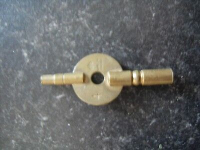 Carriage/ Mantle Clock Spring Winding Key 3.0 mm x 2.0 mm