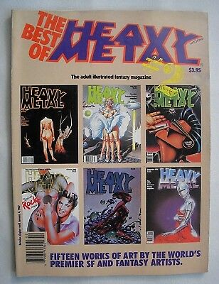 The Best of Heavy Metal # 2 - Gut erha.! The adult illustrated fantasy magazine