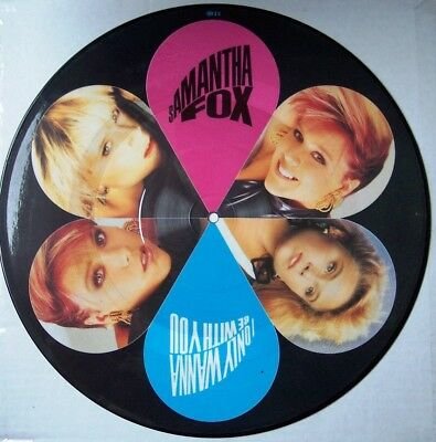 Samantha Fox - I only wanna be with you - Picture disc
