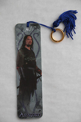 Herr der Ringe Lesezeichen Lord of the Rings Aragorn Bookmarks LOTR NEU