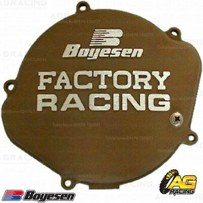 Boyesen Factory Racing Magnesium Clutch Cover For Honda CR 125 1987-1999