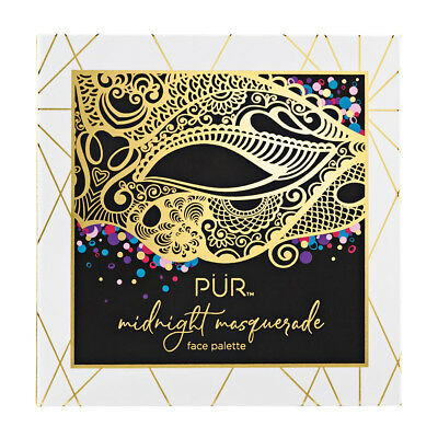 PUR Midnight Masquerade Face and Eye Palette