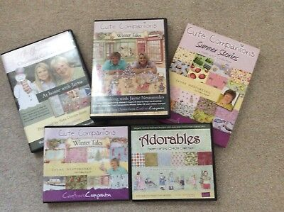 JAYNE NESTORENKO Crafting CD/DVD Collection From Crafters Companion