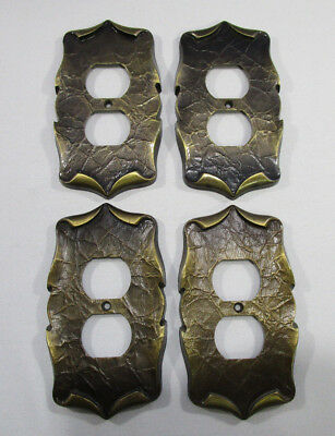 Amerock Carriage House Receptacle Outlet Covers Lot of 4 Vintage