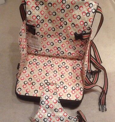 Baby Polar Gear Go anywhere Travel Booster Seat / high chair with place mat