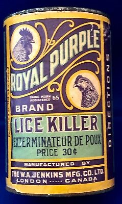Veterinary Royal Purple Lice Killer for Poultry