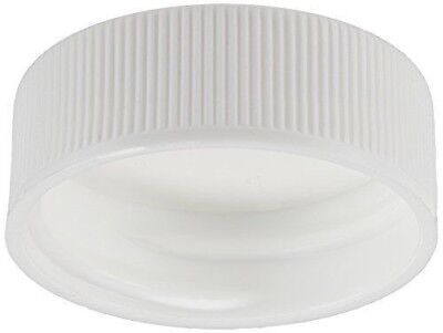 Polypropylene 28/400mm White Cap Plastic Closure with F217 Liner 10ea