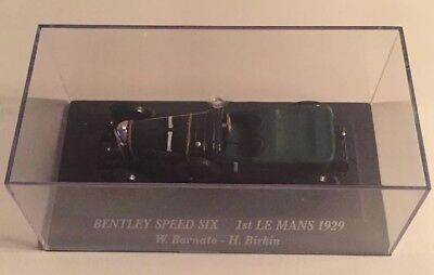 Bentley Speed Six - 1 st Le Mans 1929 - 1/43 NEUF + Revue