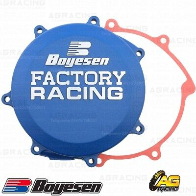Boyesen Factory Racing Blue Clutch Cover For Yamaha YZ 250F 01-13 WR 250F 01-14