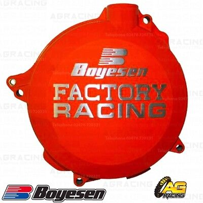 Boyesen Factory Racing Orange Clutch Cover For KTM SX 144 2011