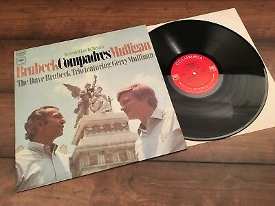 Brubeck / Mulligan Compadres Live in Mexico Columbia 2-Eye CS 9704 1B/1A NM