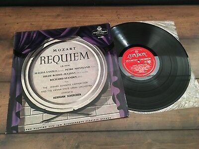 UK London Ducretet-Thompson DTL 93079 ED1 MOZART: Requiem/Scherchen/VSOO VG+