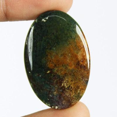 36ct Natural Best Grade Blood Stone Oval Cabochon from Africa EZ29