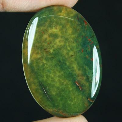 40ct Natural Best Grade Blood Stone Oval Cabochon from Africa GX21