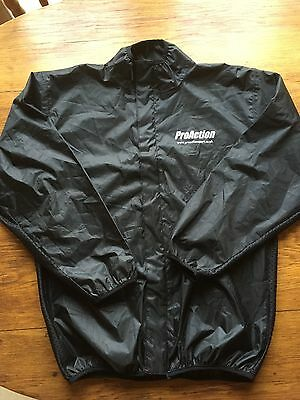 ProAction Motocross/ Enduro MUD JACKET WATERPROOF RAIN COAT Medium size
