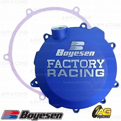 Boyesen Factory Racing Blue Clutch Cover For KTM EXC SX 17-18 Husqvarna TC TE