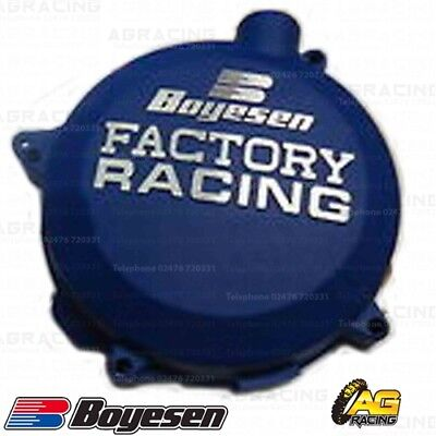 Boyesen Factory Racing Blue Clutch Cover For KTM EXC SX XC 250 300 2003-2012