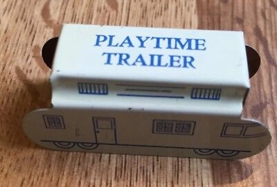 Cracker Jack Shows Prize 1930s Tin Lithographed Playtime Trailer Litho
