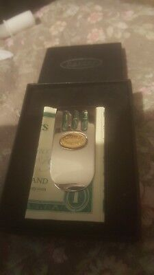 Dalvey money clip brand new still boxed from Scotland money notes credit