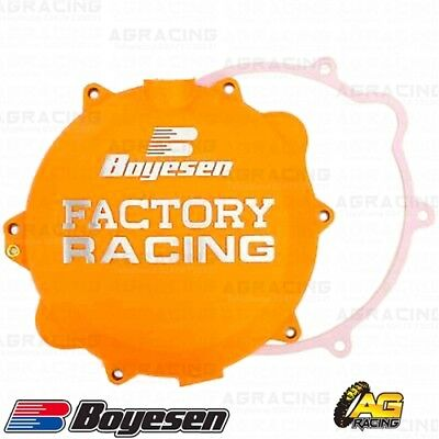 Boyesen Factory Racing Orange Clutch Cover For KTM EXC SX XC 250 300 2003-2012