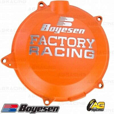 Boyesen Factory Racing Orange Clutch Cover For KTM Husaberg Husqvarna SXF EXCF