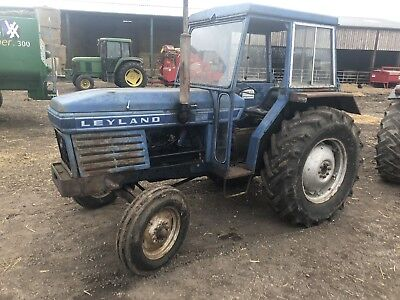 Leyland 255 Tractor. Very Original. No Vat. Delivery Available