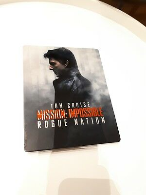 Mission: Impossible - Rogue Nation Steelbook  BR