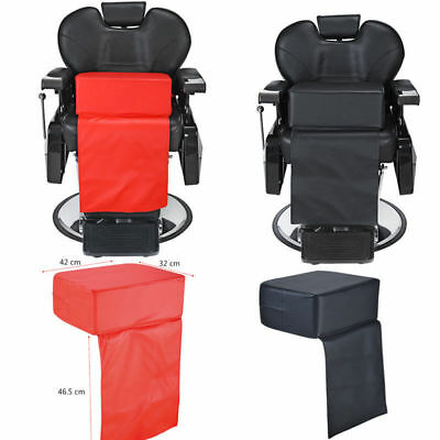 Child Cushion Chair Seat Booster Barber Salon Haircut Hairdressing Black Red