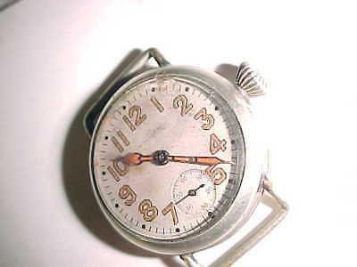 UNIQUE  WWI  WALTHAM TRENCH WATCH - AEF to LT. COLONEL EVANS - 435 M W Co