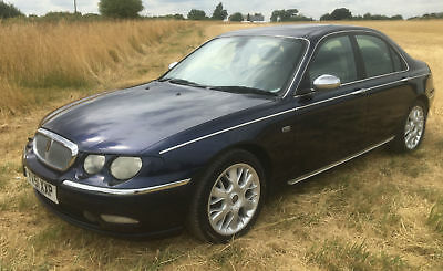 2001 Rover 75 2.5 V6 Connoisseur Se Genuine 46,000 Miles Runs/drives Great