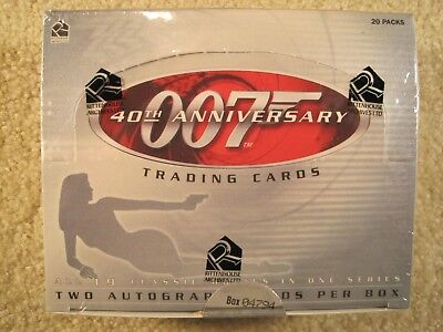 2002 Rittenhouse Archives James Bond 007 40th Anniversary FACTORY SEALED BOX