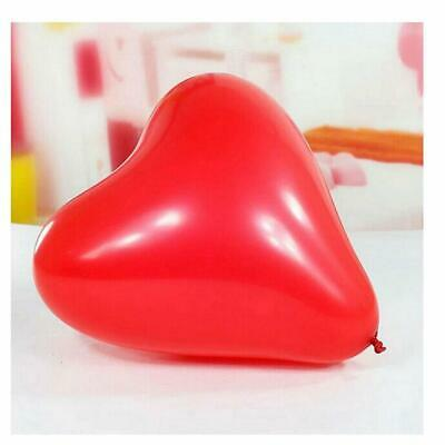 Red & Pink Heart Shape Balloons Anniversary Honeymoon Special Decorations