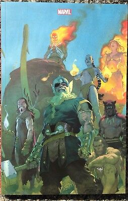 Marvel Legacy Avengers #4 Ed.collector by Esad Ribic 300ex. Comic'Gone Lyon 2018