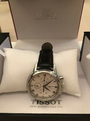 Men's Tissot Carson Chronograph Automatic White Dial Watch - T085.427.16.013.00