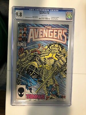 Avengers #257, CGC, 9.8/NM to Mint, White Pages 1st App Nebula
