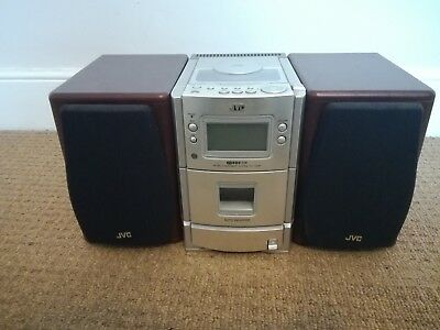 JVC micro system UX-T300R, CD Player, Radio and AUX