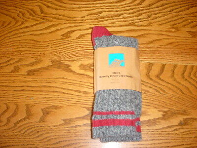 1 Pair Of Eastern Mountain Sports Wool Crew Socks Size Large