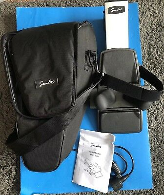 Saunders Cervical Home Deluxe Traction Device with Carrying Case EUC