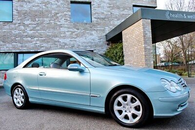 Mercedes-Benz Clk 240 Elegance Auto / One F/lady Owner / Full Service History