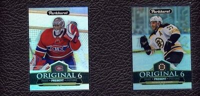 2018-19 UD PARKHURST ORIGINAL 6 Present #2 Carey Price Canadiens