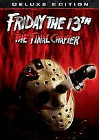 Friday the 13th The Final Chapter (DVD, 2009, Deluxe Edition) Part 4 w/Slipcover