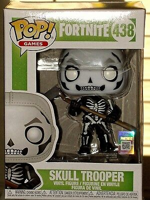 Funko Pop! Games Fortnite SKULL TROOPER Collectible Vinyl Figure #438 * MINT