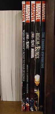 War of Kings tpb collection (5 volumes) VO