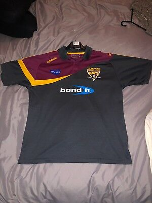 Huddersfield Giants Polo Shirt Size Large
