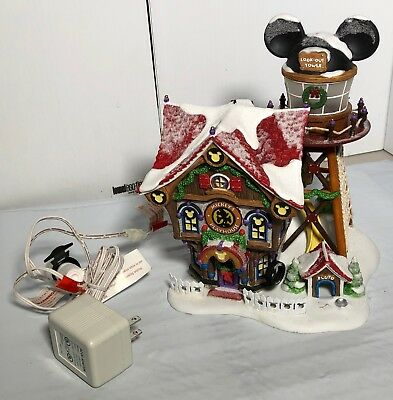 Department 56 2003 Mickey's Holiday North Pole Holiday House