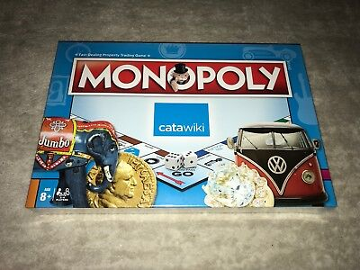 Monopoly Catawiki Fast-Dealing Property Trading Game New Condition in Blister.
